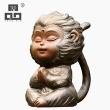 TANGPIN purple clay tea pets monkey cute zisha teapets kung fu tea accessories tangpin purple clay tea pets monkey cute zisha teapets kung fu tea accessories