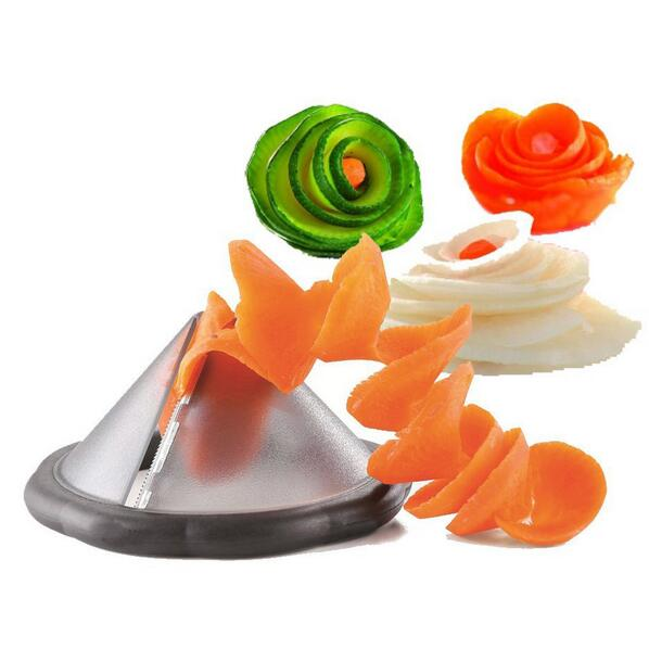 Creativa utensilios de cocina spiralizer vegetal slicer tool/accesorios de cocin