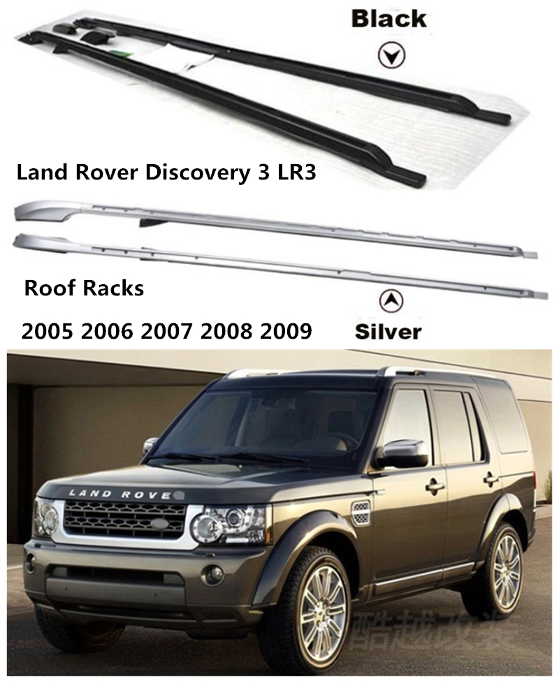 Roof Racks Luggage Rack Bar For Land Rover Discovery 3 LR3 2005 2006 2007 2008 2009 High Quality Aluminum Alloy Car Accessories image