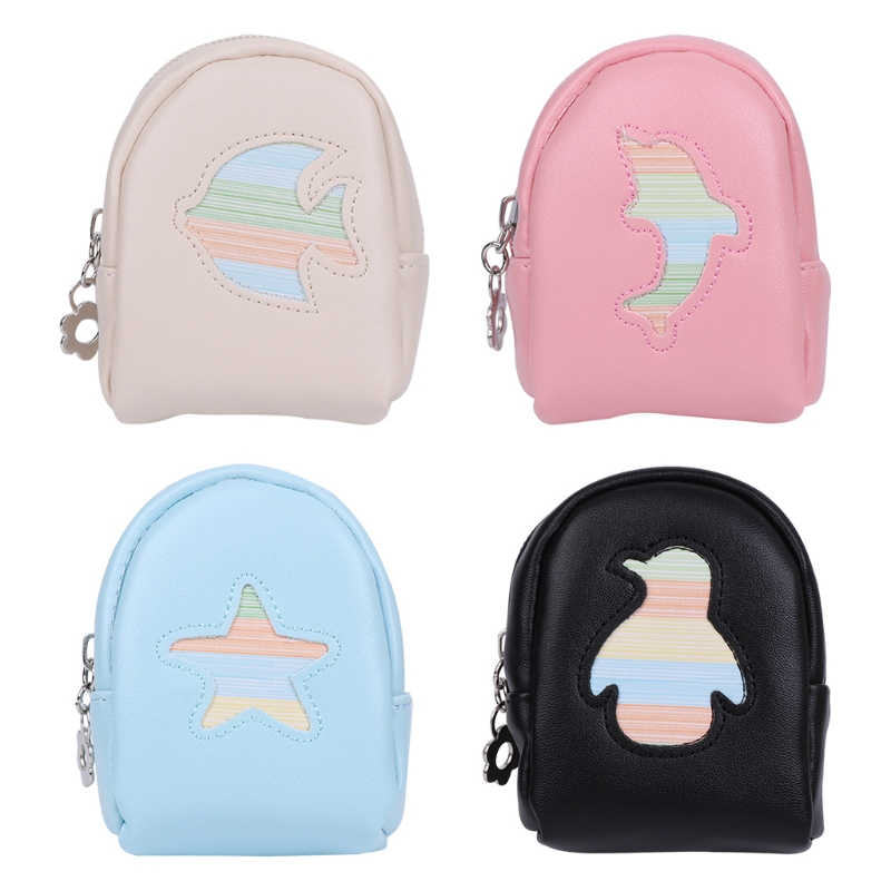 2f00b5b49131 THINKTHENDO Fashion Portable Coin Purse Women Girl Children Backpack Coin  Leather Wallet Small Hand Pouch Purse