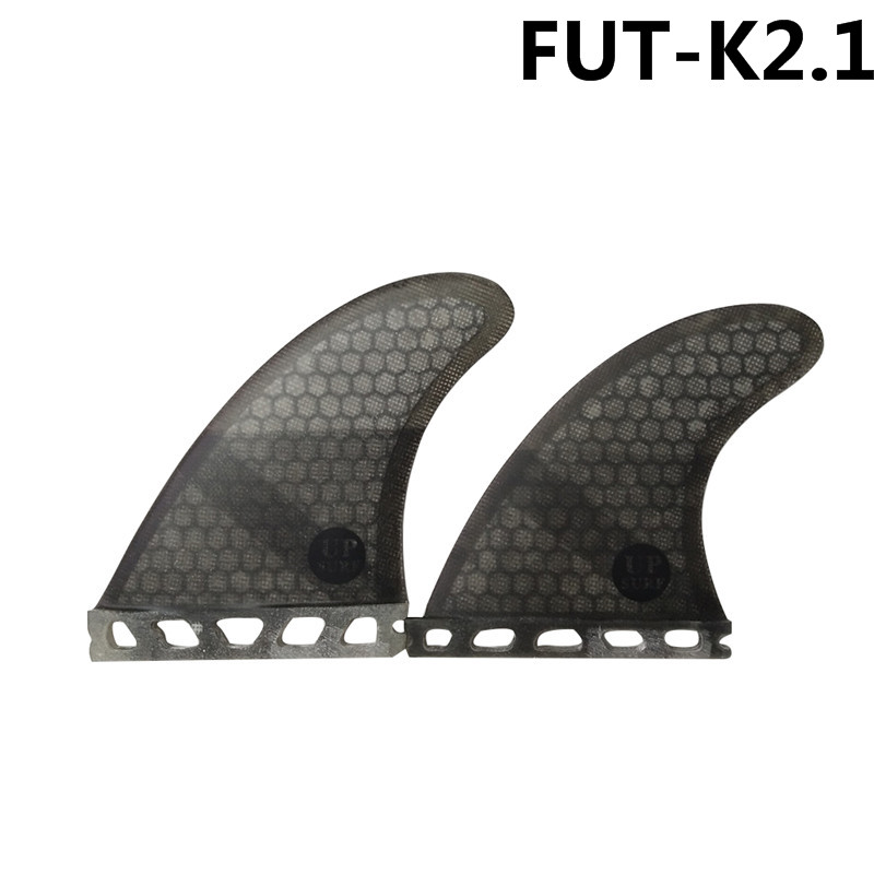 Future K2 1 fins Quad Fins Honeycomb Fiberglass surfboard fin 4 in per set Black color in Surfing from Sports Entertainment