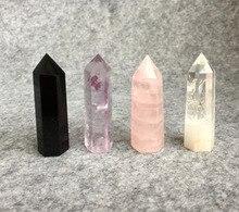 Натуральный кварц обелиск кристалл палочка ТОЧКА Исцеление