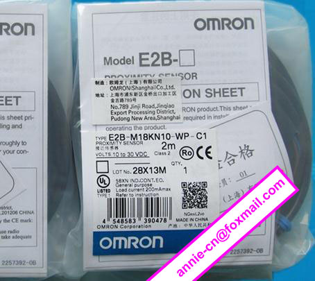 100% New and original  E2B-M18KN10-WP-C1,  E2B-M18KN10-WZ-C1  OMRON  Proximity sensor,Proximity switch, 2M dhl ems 5 sets new for om ron proximity switch e2a m18ks08 wp c1