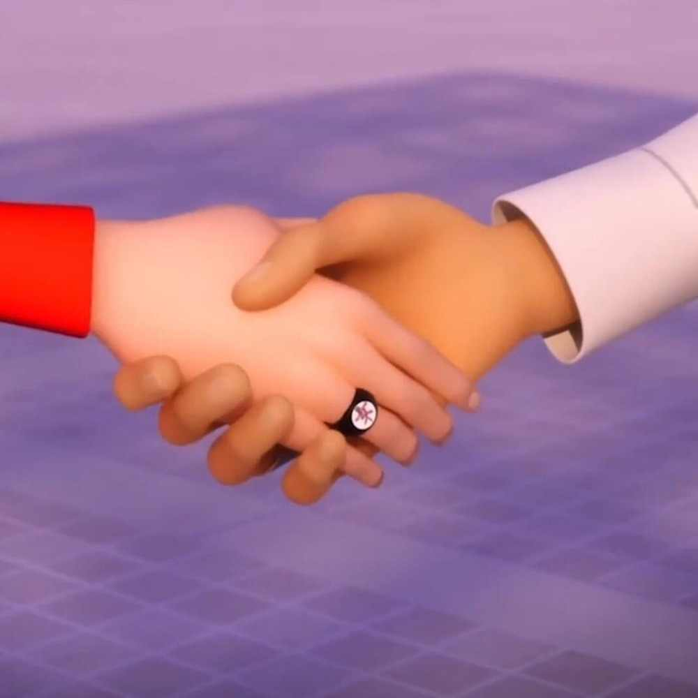 """Kagami Family's Crest czarny pierścień Tsurugi Japenese Kanji dla """"kobiet"""" biedronka i kot Noir Kagami's pierścień dla kobiet biżuteria anime"""