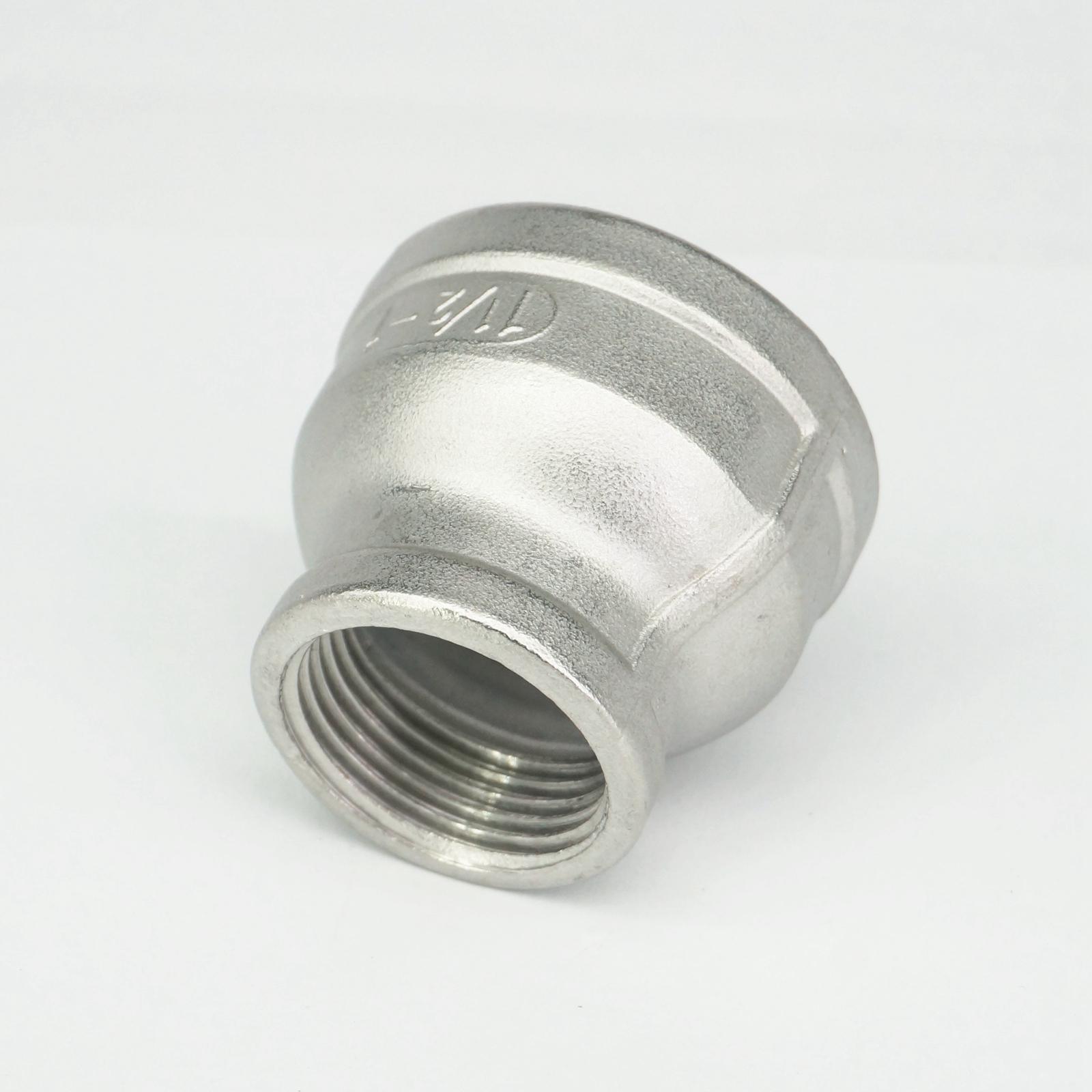 Acero inoxidable 304 tuerca hexagonal Pipe fitting connector adaptador 1 4  BSP rosca hembra presión máxima 2.5 MPa 107f1d0675e4