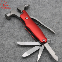 High Quality Car Safety Hammer Life-Saving Hammer Stainless Steel Multifunctional Emergency Hammer Car Escape Tool window breake bosi persian tool fiberglass handle fitter electrician hammer small hammer hammer escape hammer pliers bs g302a specials rasp dr