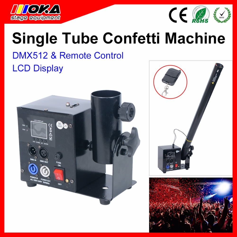 Cheaper Price Stage Confetti Machine Wedding Confetti Cannon Paper Confetti DMX Confetti Machine DJ все цены