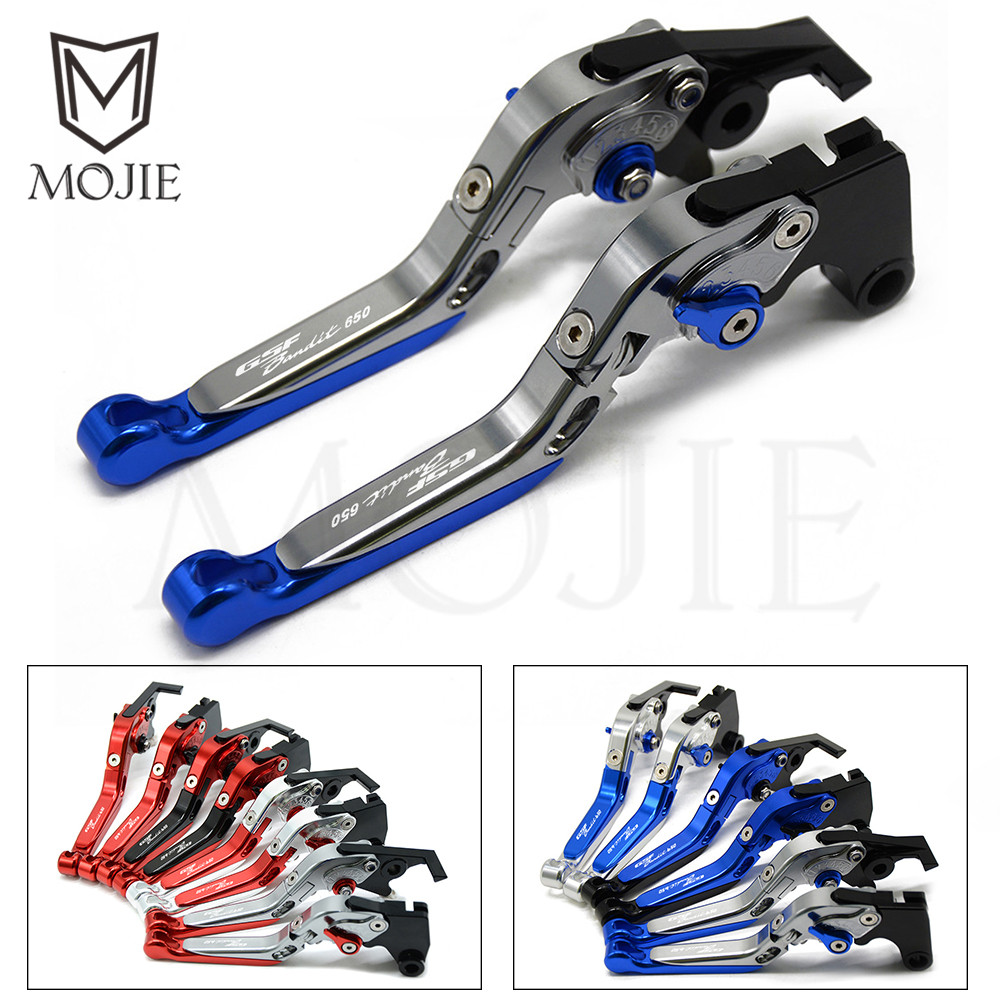 For Suzuki Bandit GSF650 GSF 650 Bandit 2005 2006 Motorcycle CNC Aluminum Adjustable Folding Extendable Clutch