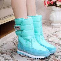 Women S Snow Boots Winter Non Slip Weatherproof Leisure Various Color 2016 Hot Sale Woman Boots