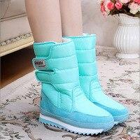 Women S Snow Boots Winter Non Slip Weatherproof Leisure Various Color 2016 Hot Sale Woman Boots