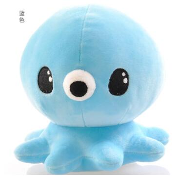 18CM Octopus Movie Staffed Toy Cartoon Animal Nano Doll Plush Toy Doll Kid Birthday Gift Home Decoration Good PPT Cotton A-88