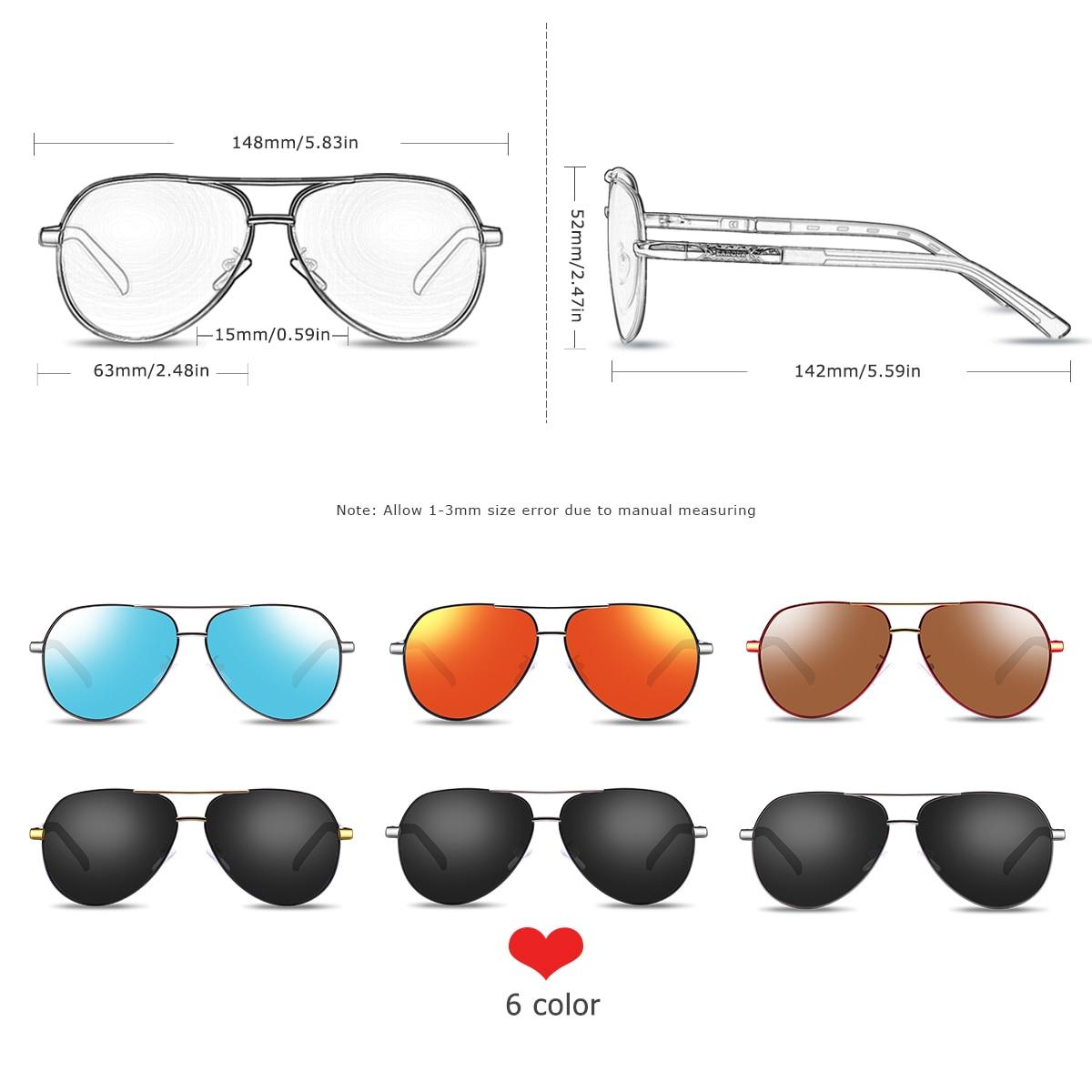 BARCUR Fashion Glasses Hot Style Men sunglasses Polarized UV400 Protection Driving Sun Glasses Male Oculos de sol 3