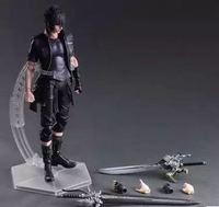 28cm Play Arts Kai Noctis Lucis Caelum Final Fantasy XV Anime Action Toy Figures Pvc Model Collection Original Box For Kids gift