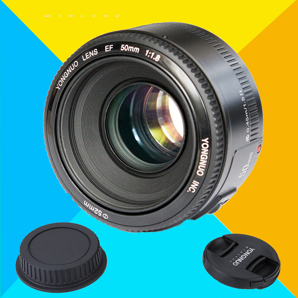 Yongnuo yn50mm F1.8 AF Large Aperture Auto Focus Lens MF YN 50MM for Nikon d7100 d3100 d5300 d7000 d90 d5200 ,50mm f1.8 lens nikon lens 50 1 8 d nikkor af 50mm f 1 8d lenses for nikon d90 d7100 d7200 d610 d700 d810 d5 digital camera professional