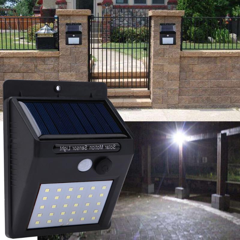 1-4Pcs 30 LEDs Solar Light PIR Motion Sensor Solar Garden Lamp Waterproof Outdoor Energy Saving Street Yard Path Light Dropship 4