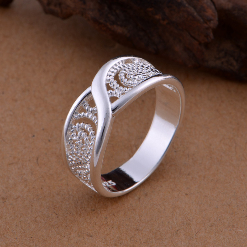 New Arrivals 925 Sterling Silver Rings For Women Girl Jewelry ...