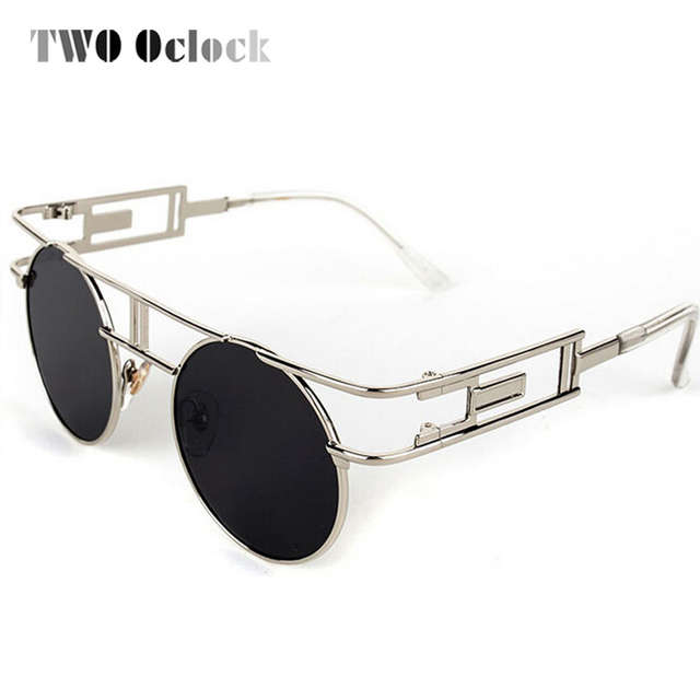 15902efcaaf Online Shop Gothic Style Sunglasses For Unisex Steampunk Goggles ...