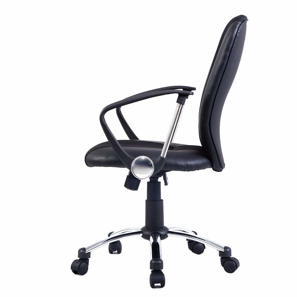 Modern ergonomic office chairs - Goplus Modern Ergonomic Computer Task Executive Mid Back Desk Office Chair Black Hw51418 In Office Chairs From Furniture On Aliexpress Com Alibaba Group