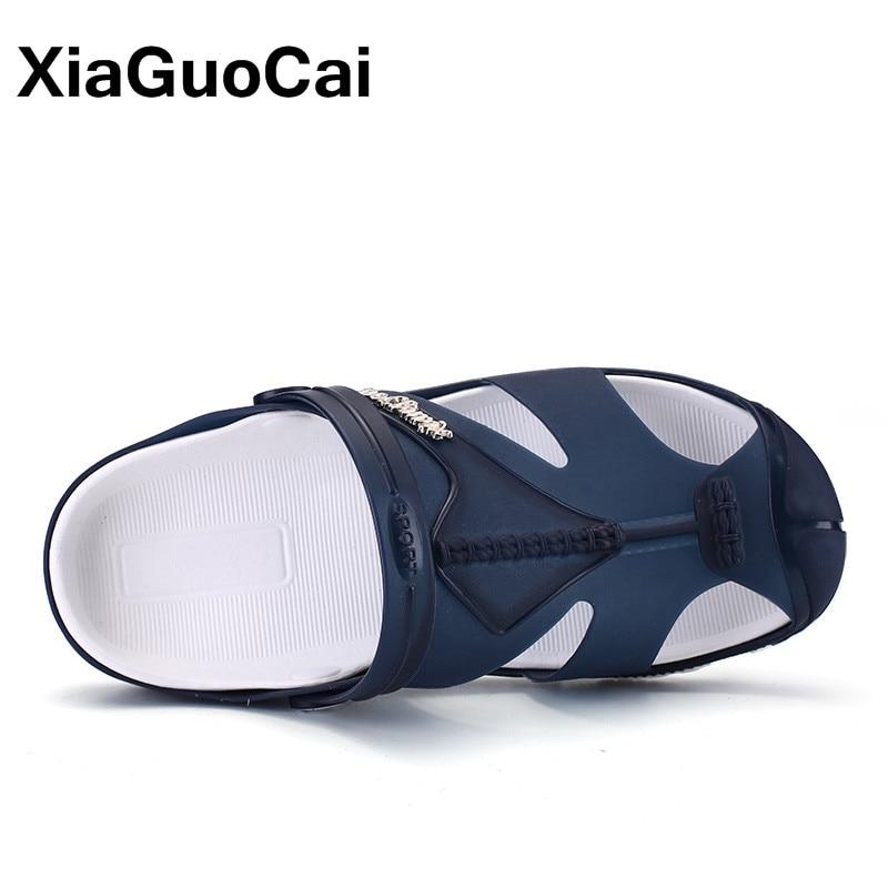 Pantoufles XiaGuoCai 2018 Hommes d'été, Slip-On Chaussures de - Chaussures pour hommes - Photo 4