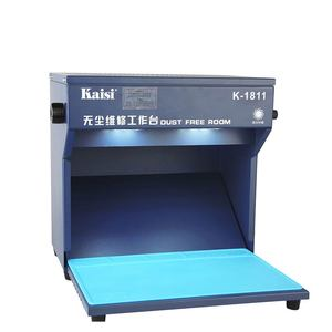Image 2 - החדש קייסי K 1811 מיני אבק משלוח חדר עבודה שולחן טלפון LCD תיקון מכונת ניקוי חדר עם מחצלת כלים 220 v