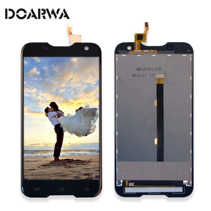 LCD Display Touch Screen For Original Blackview BV5000 Phone Spare Lcds Digitizer Sensor Assembly Replacement Parts