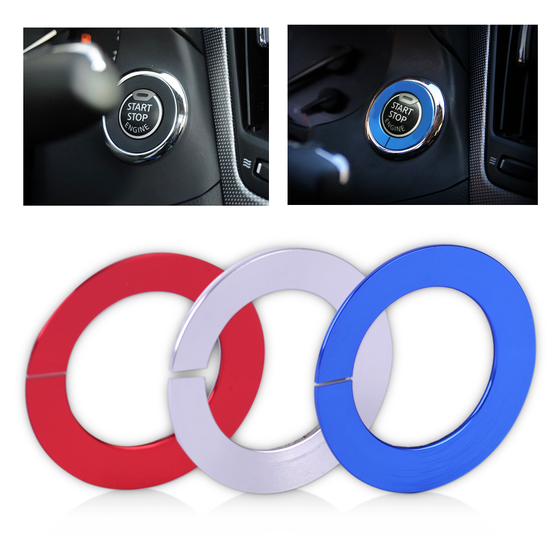 Beler Car Styling Engine Start Stop Switch Push Button