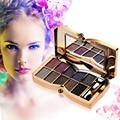 Hot Sale Professional Diamond Eyeshadow Palette Matte Naked Eye Makeup 10 Colors Nude Eye Shadow Cosmetic Brush Makeup Set