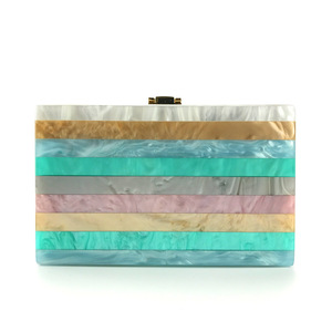 Image 2 - 2018 Acryl Clutch Bag Bolsa Feminina Luxe Handtassen Vrouwen Crossbody Tassen Voor Designer Bolsos Mujer Sac A Main Avond Clutch
