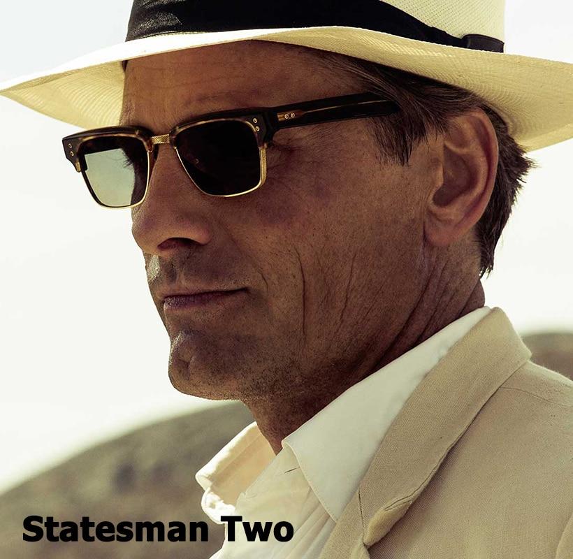 JackJad moda el estadista dos estilo viajero gafas De Sol De diseño De marca Vintage fresco gafas De Sol marco Oculos De Sol