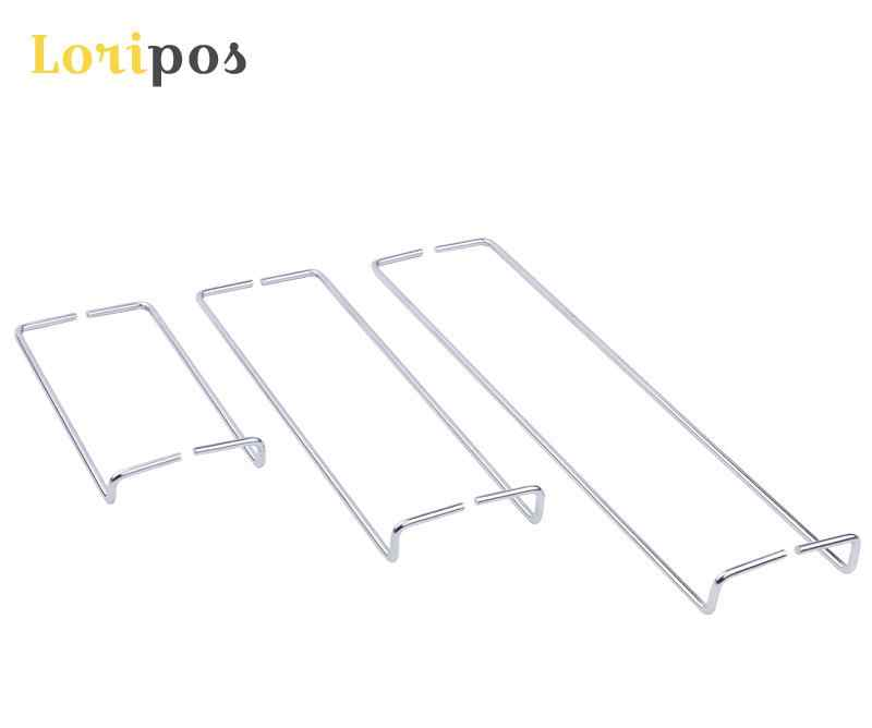 Zinc Plated 100mm Height Bed Connecting Corner Brackets Hook-On Style Steel