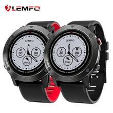 Лучшие LEMFO LES3 Смарт-часы Smartwatch IP68 Водонепроницаемый Смарт-часы Smartwatch gps несколько спортивные режимы монитор сердечного ритма
