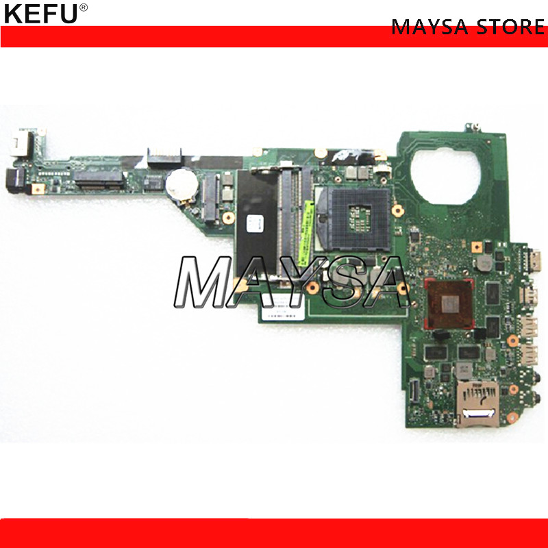676759-501 676759-001 For HP Pavilion DV4 DV4-5000 Laptop Motherboard SLJ8C HM76 DDR3 GT630M Video Card nokotion laptop motherboard for hp pavilion dv4 5000 intel hm77 ddr3 nvdia geforce gt630m 1gb graphics 676759 001
