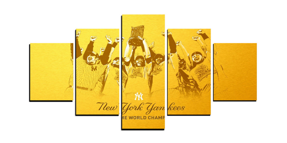 Unique Yankees Wall Decor Festooning - All About Wallart ...