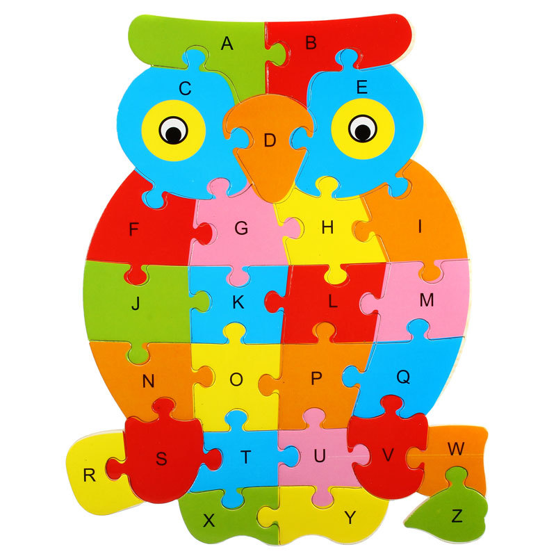 wooden alphabet puzzle free shipping worldwide With letter puzzles for toddlers