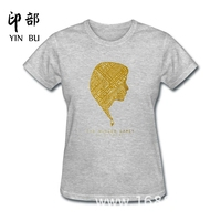 New Design The Hunger Games Katniss Everdeen Silhouette Various Colors Funny Cotton Funny T Shirt Women