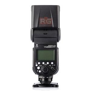 Image 2 - 永諾YN968EX RTフラッシュスピードライト高速同期ttlワイヤレスでledライト用キヤノン5 diii 6d 7DII 60d 1100d 1200d 1000D700D