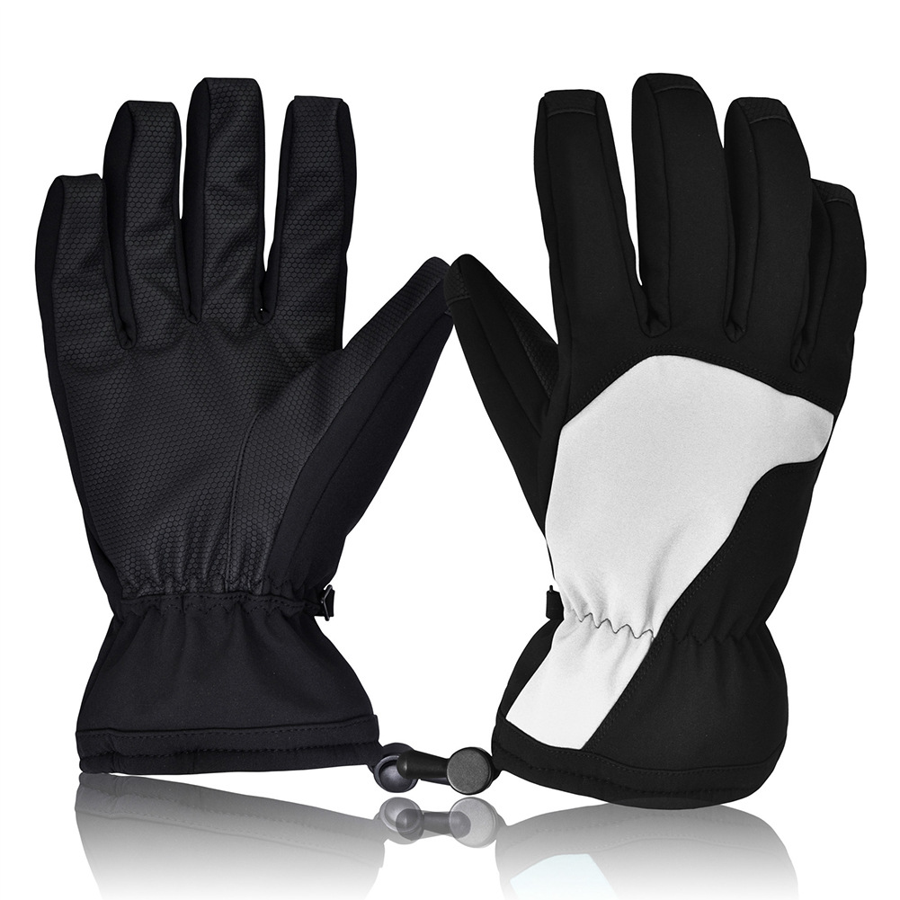 1 Paar Männer Frauen Handschuhe Verdicken Warme Outdoor Snowboard Winddicht Winter Radfahren Wasserdicht Wandern Reiten Sport Ski Nicht-slip