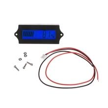 8-70 в Синий ЖК-свинцово-кислотная литиевая батарея Емкость Цифровой Тестер электрический заряд детектор