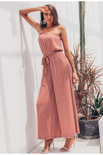 Women's Casual Loose Jumpsuit