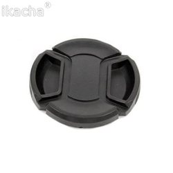 100pcs/lot 67mm SLR Camera Lens Cap Snap-On Front Lens Protection Protect Cover With Anti-lost Rope For All Camera