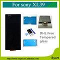 100% de garantía de calidad de 6.44 pulgadas pantalla lcd táctil digitalizador completo para sony xperia xl39 xl39h xl39 zultra 10 unids dhl