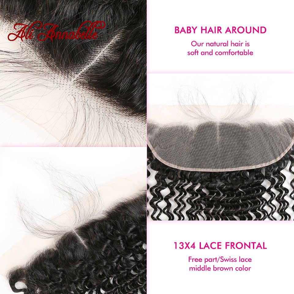 13*4 глубокая волна прозрачное кружево лобовое ухо К ушкам бесплатно/средняя часть с волосами младенца предварительно сорвал бразильские человеческие волосы фронтальная