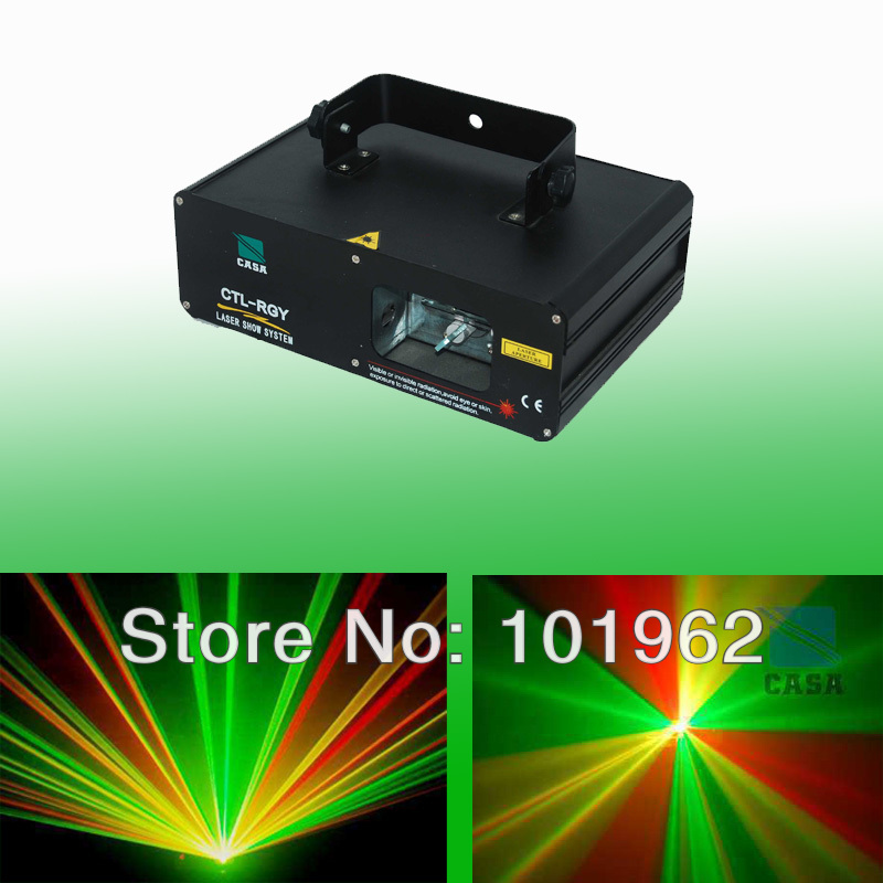 New arrival 280mW Mix color RGY laser DJ party Stage Lighting Effect Light stage light