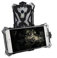 À prova de choque de Metal de Alumínio Caso Para Meizu M1 M2 M5 M3 M3S MX6 nota Luxo Thor Resistente Armadura de Volta Caso Capa Para Meizu MX4 MX5 Pro