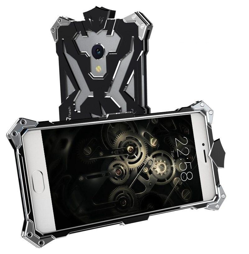 Цена за Противоударный металлический Алюминий чехол для Meizu M5 M3 M3S MX6 M1 M2 Примечание Роскошные Тор жесткие Панцири задняя крышка Для Meizu MX5 MX4 Pro