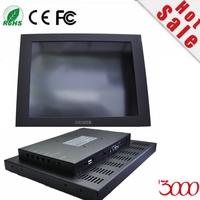 Hmi Panel Computer 12 4:3 Open Frame Metal Casing Waterproof Industrial Vga Hdmi Dc12 Input Usb Resistive Touch Screen Monitor
