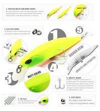 Bearking 1PCS Minnow Fishing Lure Laser Hard Artificial Bait 3D Eyes 10cm 14.5g Fishing Wobblers Crankbait Minnows
