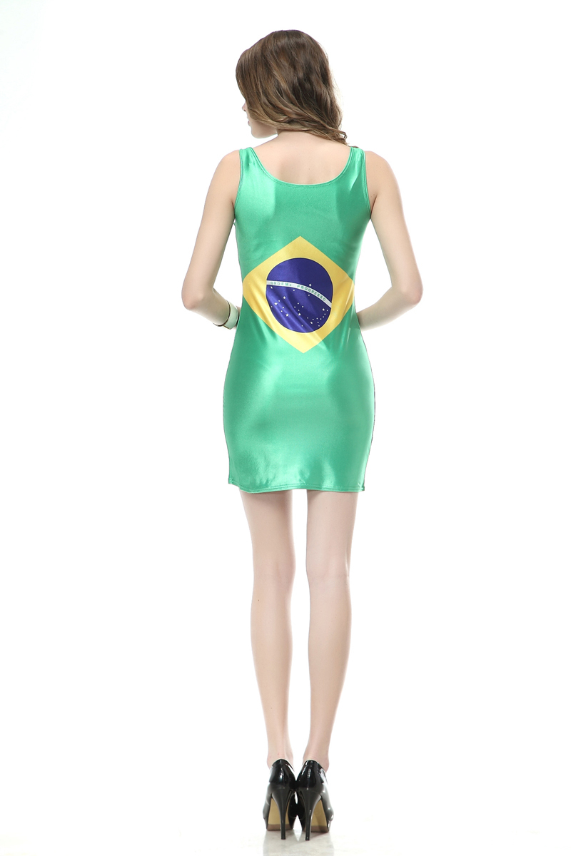 Fashion Black milk TQ099 Women's 3D printing golden water drop cool cartoon prints elastic summer sexy Girl bodycon tight dress