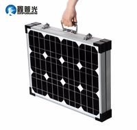 Xinpuguang 70W 13.2V foldable high efficiency solar panel power charger mobile phones and digital camera outdoor camping use