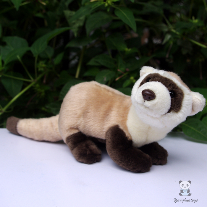 Plush Animals  Black-Footed Ferret Doll  Stuffed Children'S Toys  Simulation Animal Dolls  Rare Gifts